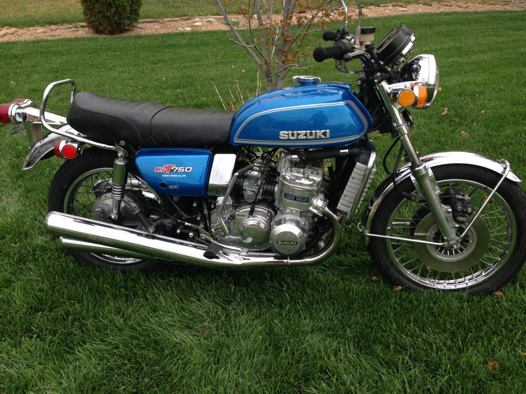Tires Near Me Open Now >> 1974 Suzuki GT750 Water Buffalo 2 Stroke Triple *RARE* GT ...