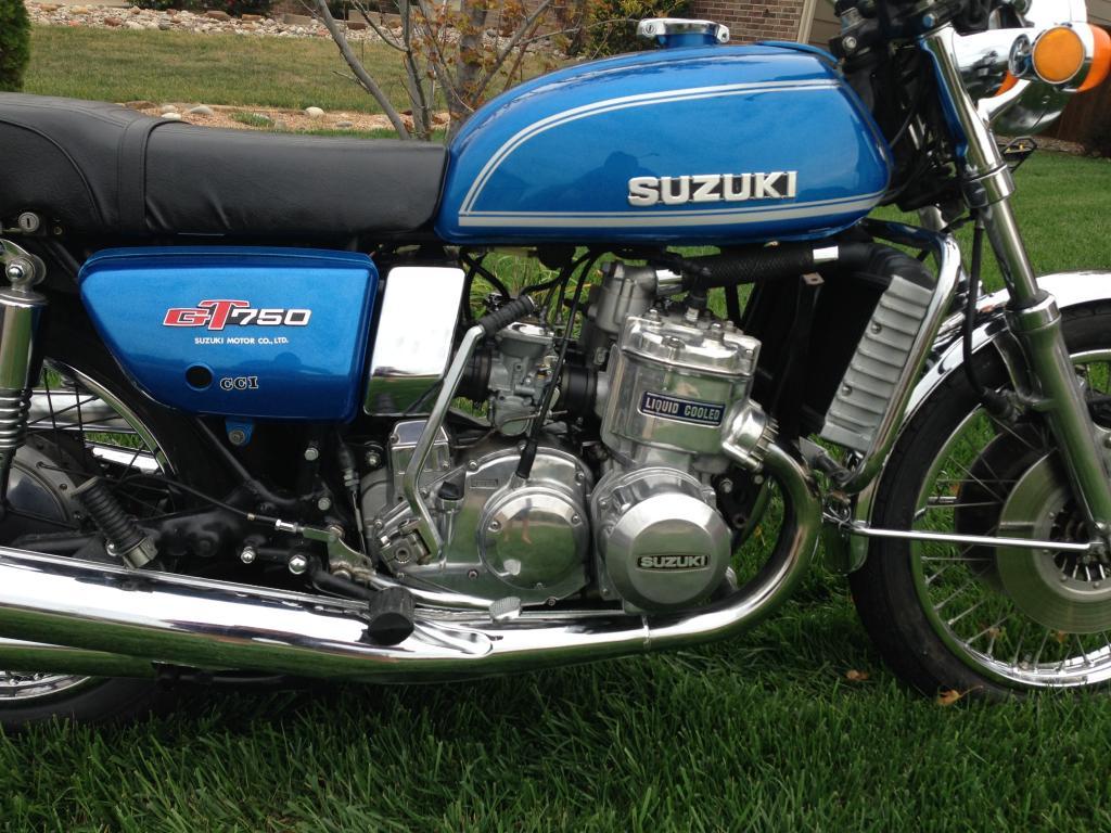 Tires Near Me Open Now >> 1974 Suzuki GT750 Water Buffalo 2 Stroke Triple *RARE* GT 750 550 380 Kettle