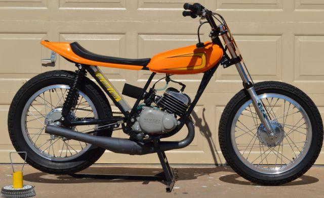 1974 yamaha mx175 flat track bike