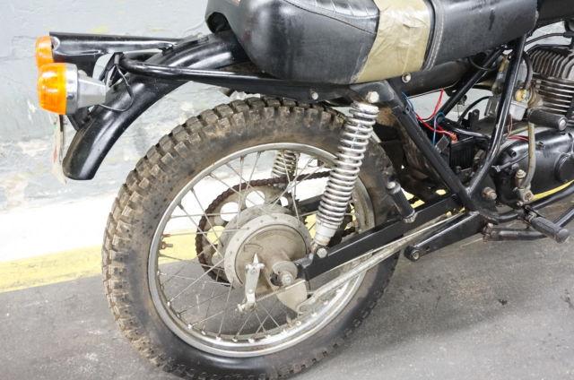 1975 Harley Davidson SX125 AERMACCHI HARLEY AMF SX 125