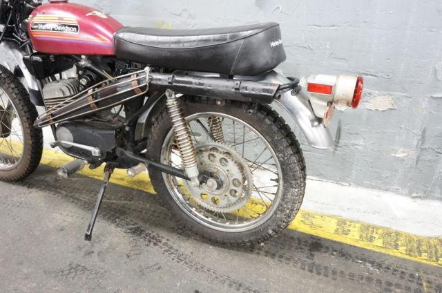 1975 Harley Davidson SX125 Aermacchi SX 125 NICE PARTS BIKE