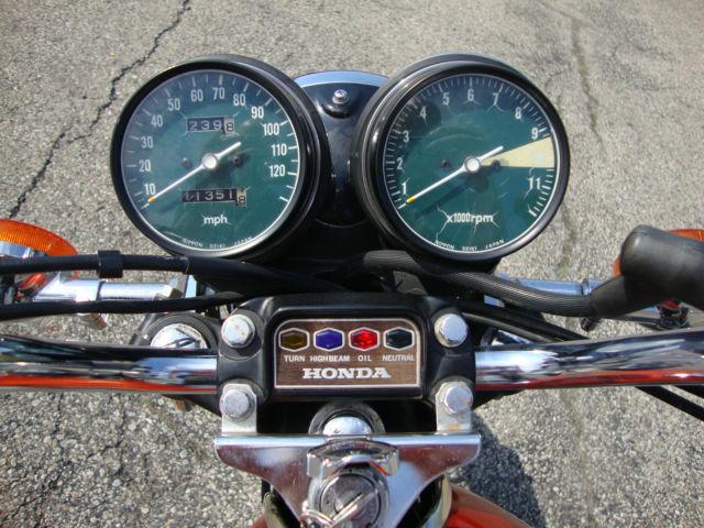 1975 Honda Cb550 K1 Nice 11k Miles Original Survivor Flake