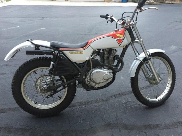1975 Honda TL250 Restored Trials TL 250