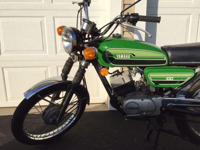 1975 Yamaha RS100 RS 100 Vintage