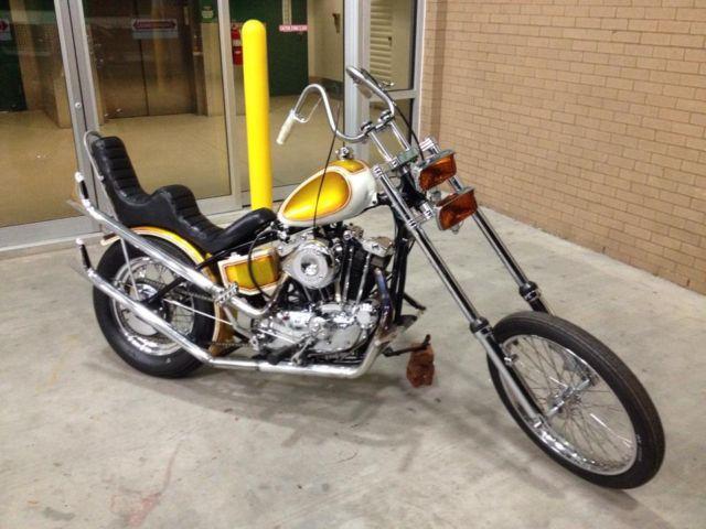 Harley Davidson Ironhead Performance Parts
