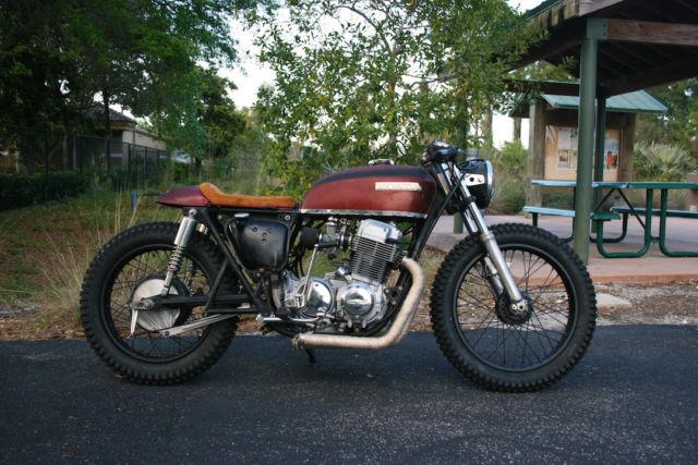 1976 Honda CB750 Cafe Racer Brat Rat Rod Style