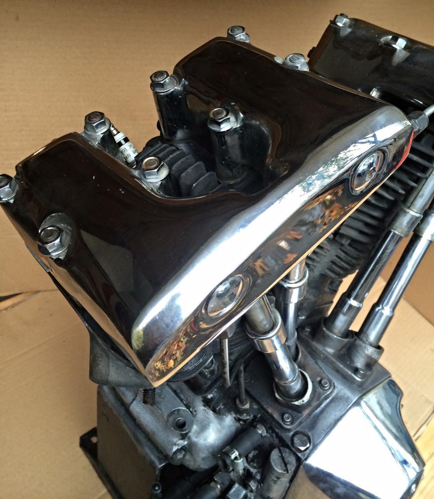 1977 Harley Davidson Shovelhead Motor Shovelhead Panhead
