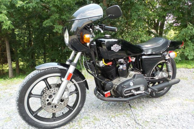 1977 Harley Davidson XLCR Cafe Racer CR1000 Rare Motorcycle Older Restoration