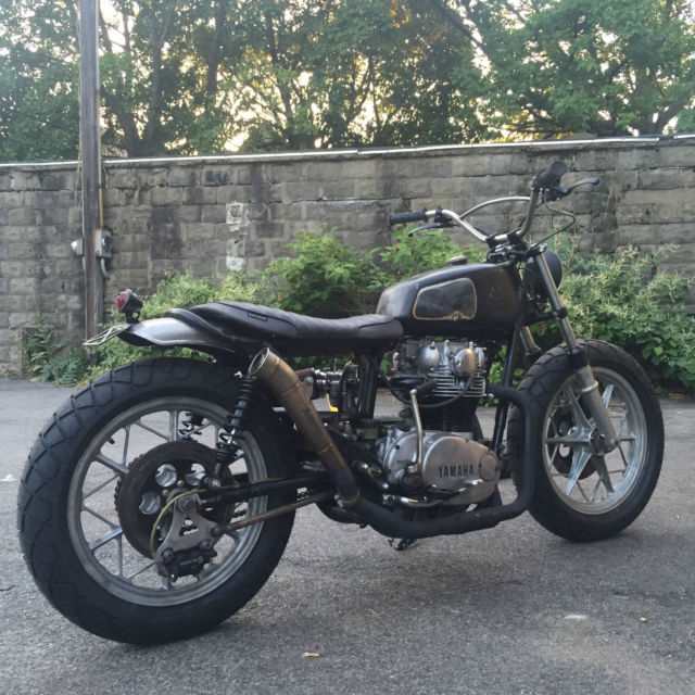 1977 Xs650 Indo Brat Style Tracker Cafe Racer Flat Track Kimtab Chopper Triumph