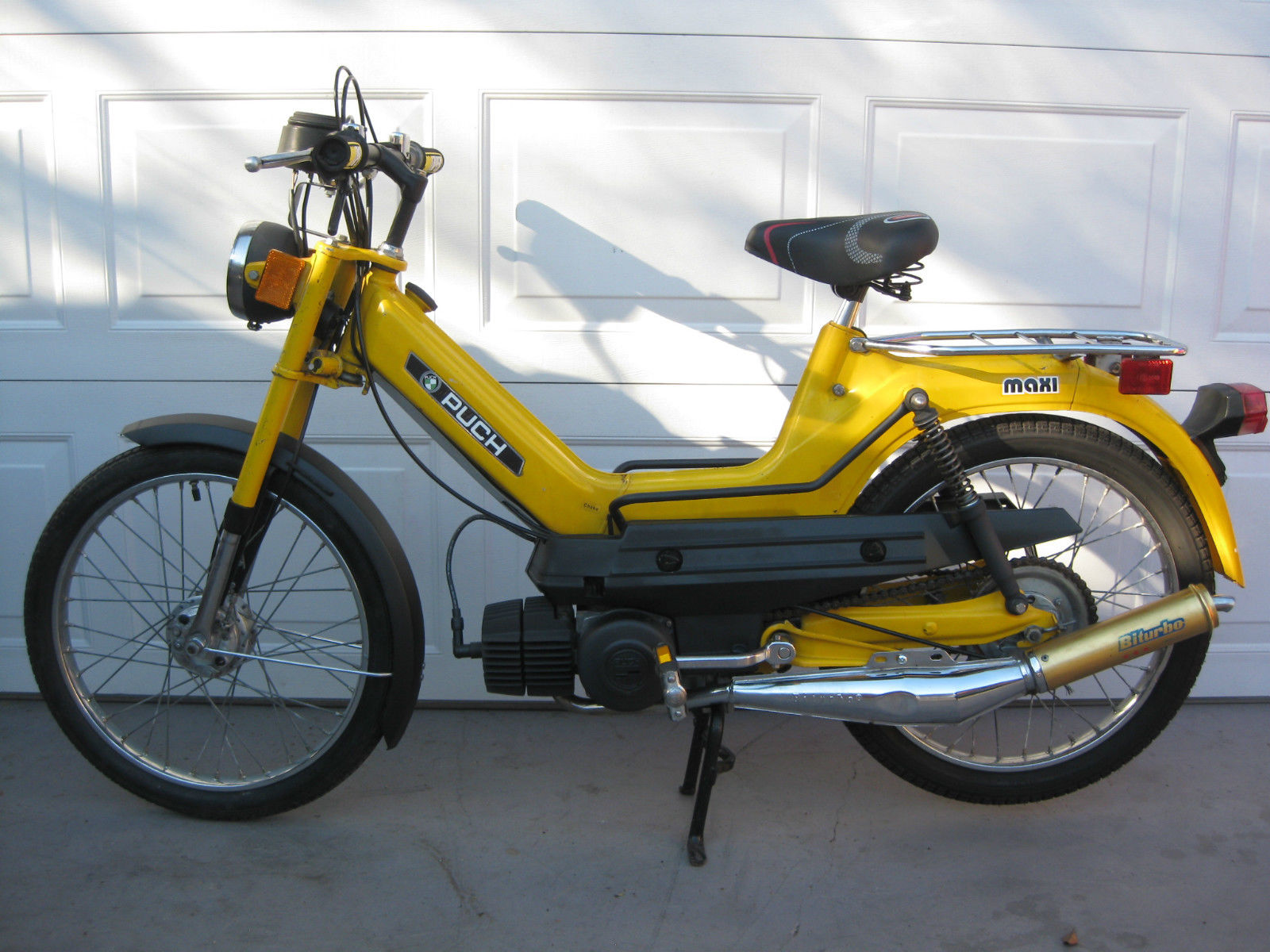 1977 Puch Maxi E50 Single Speed 1978 Luxe Za50 Wiring Diagram 78 Moped With Biturbo Muffler