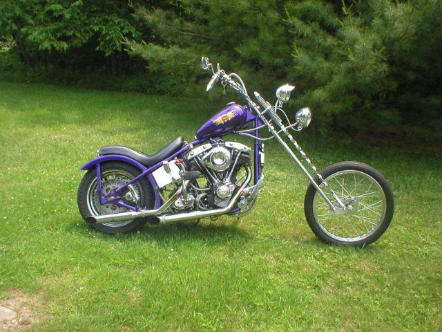 1978 Harley Davidson Shovelhead Chopper