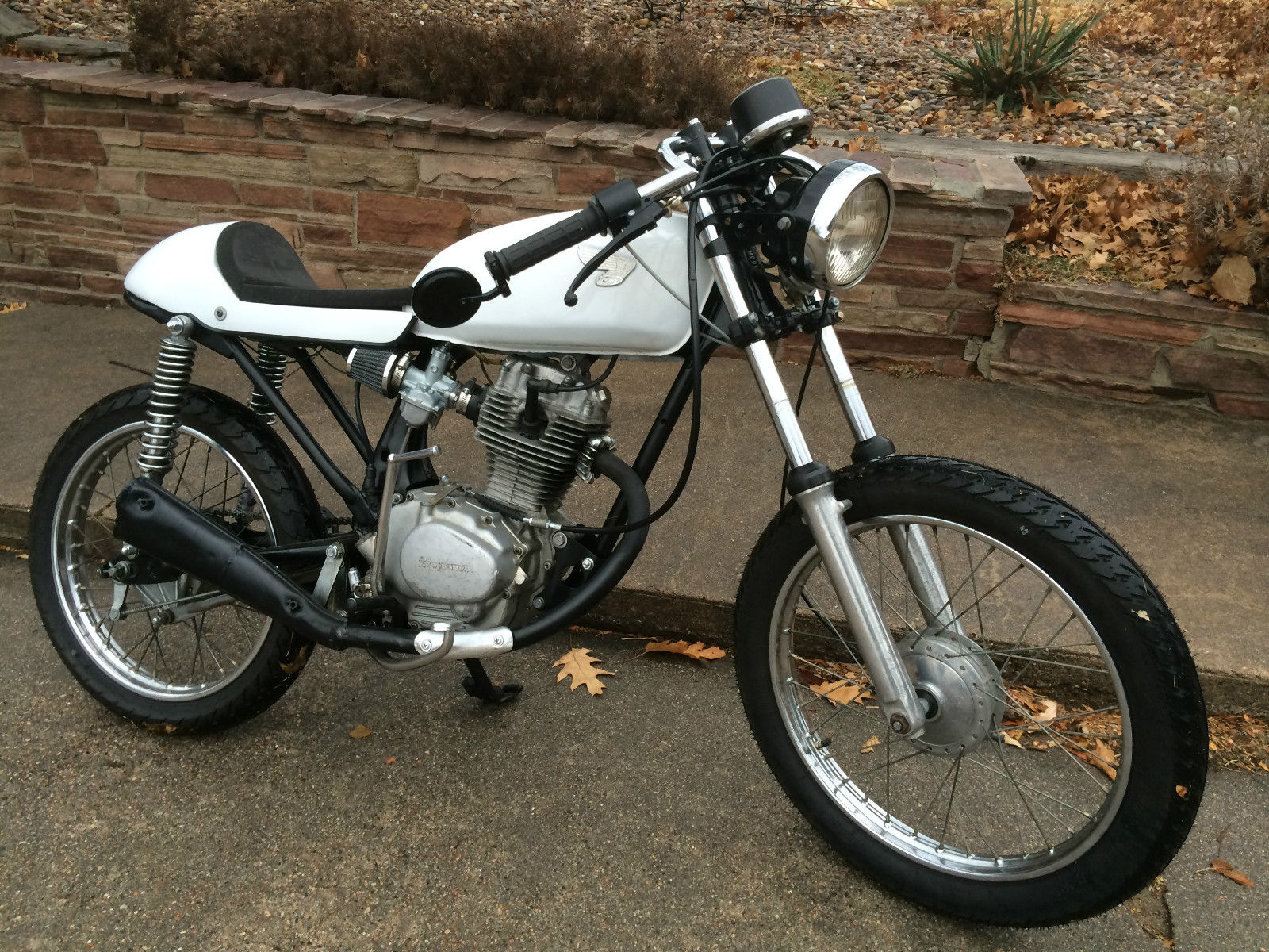 1978 honda cb125 cafe racer. Black Bedroom Furniture Sets. Home Design Ideas