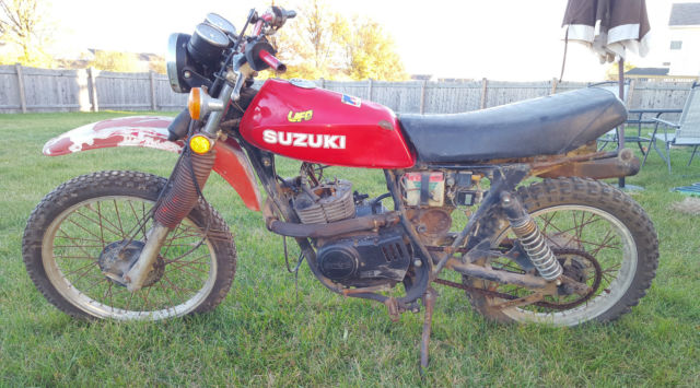 1978 suzuki sp370 enduro motorcycle. Black Bedroom Furniture Sets. Home Design Ideas