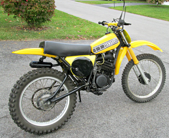 1978 yamaha yz100 vintage racer motocross ahrma acr yz 100. Black Bedroom Furniture Sets. Home Design Ideas