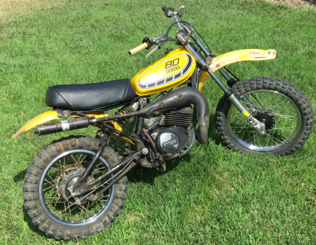 1978 yamaha yz80 yz 80 mx gt gt80 jt1 excellent running for Yamaha mx 80 for sale