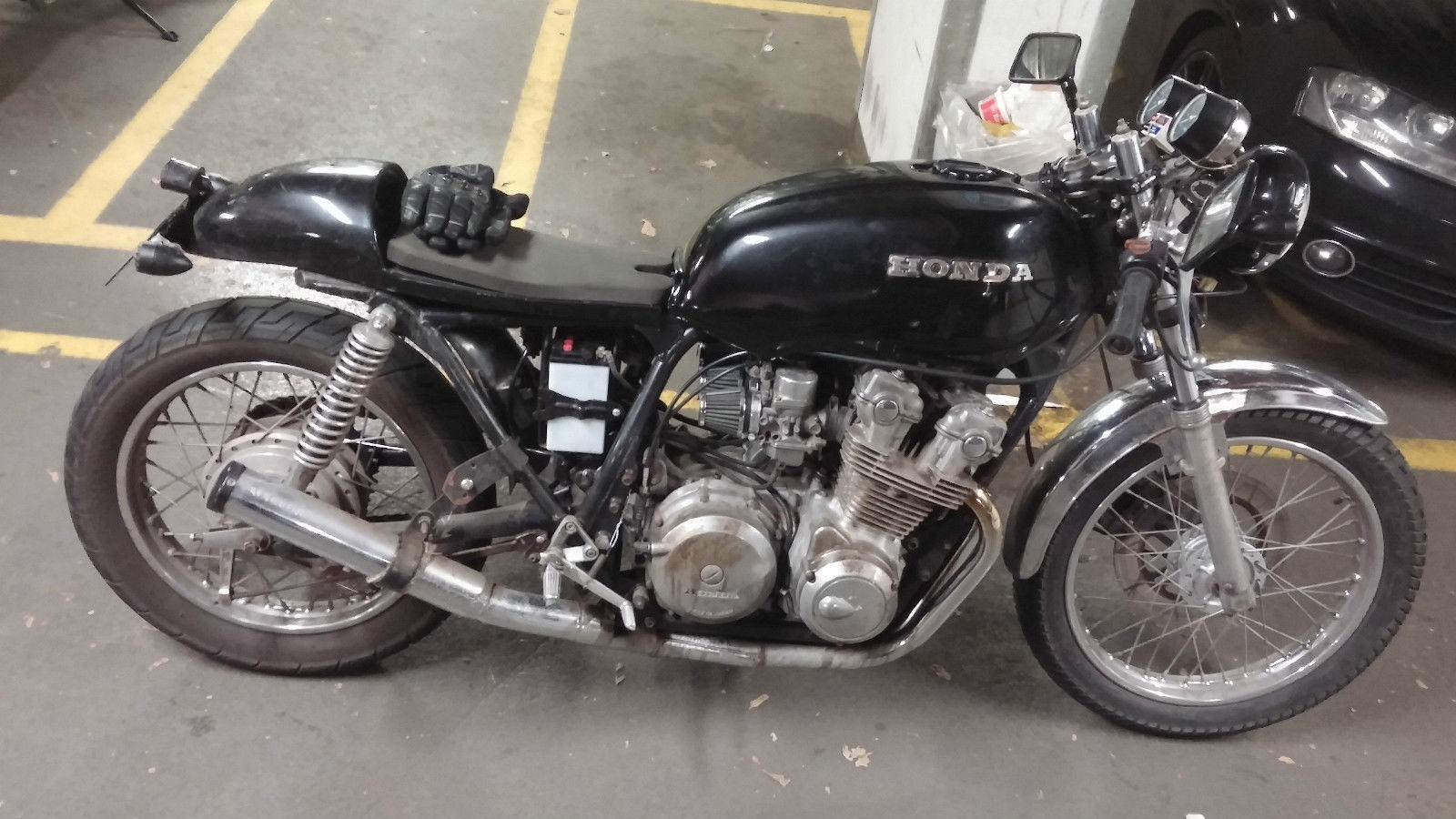 1979 HONDA CB750 BLACK Cafe Racer Classic