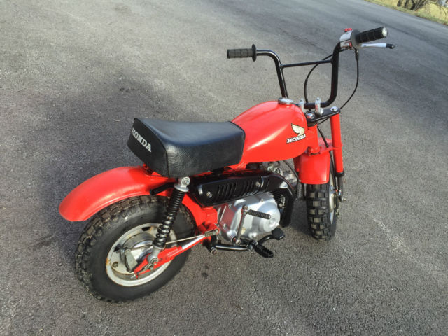1979 honda z50r 50cc restored monkey bike z50 trail. Black Bedroom Furniture Sets. Home Design Ideas