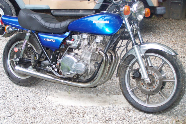 1979 KAWASAKI KZ1000 LTD