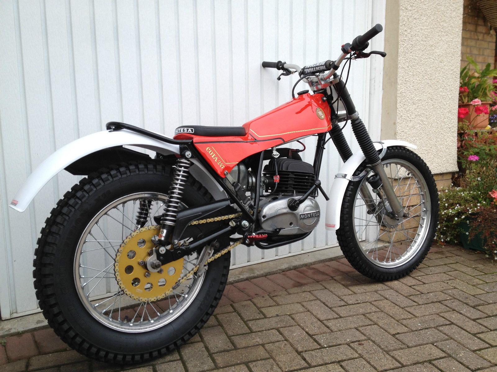 1979 Montesa Cota 247 Restored Trials Bike