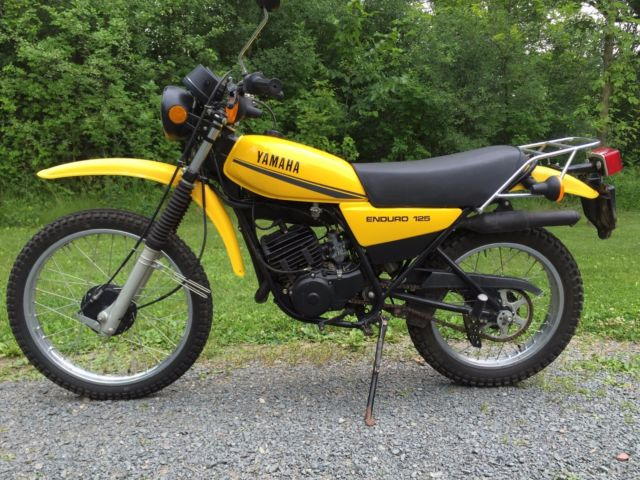 1979 yamaha dt125f dual sport vintage on off enduro dt125 dt 125. Black Bedroom Furniture Sets. Home Design Ideas