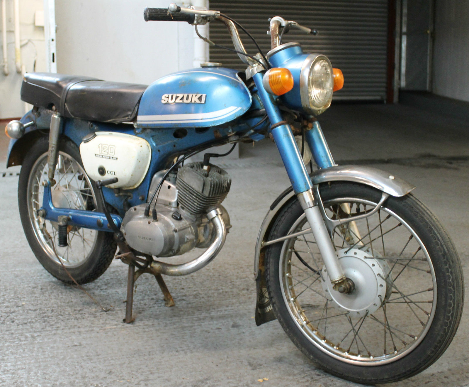 1980 suzuki b120p student for restoration  spares or