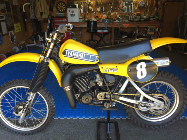1980 yamaha yz 465 motorcycle cycle original excellent