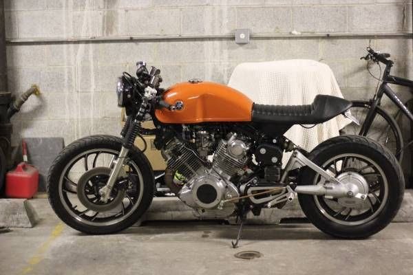 1981 Yamaha Virago Xv750 Cafe Racer  Rat  Dirt Tracker