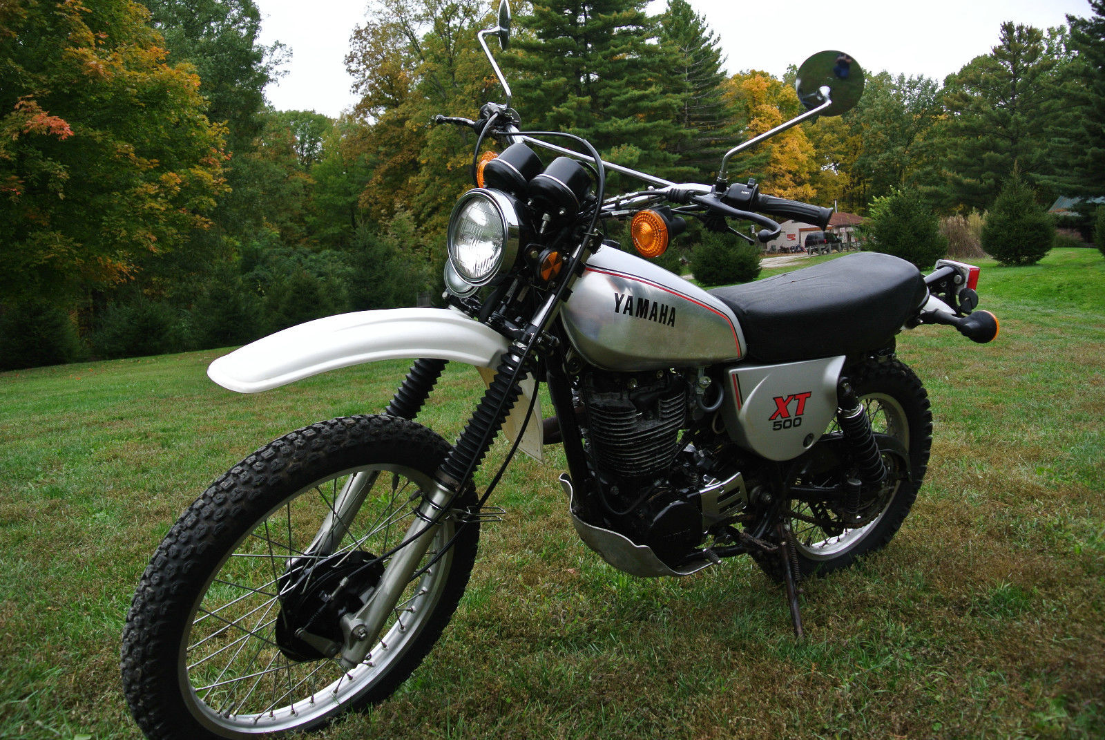 1981 yamaha xt500 enduro nice tt500 cb xt 500 tt500 mx dt it yz no reserve. Black Bedroom Furniture Sets. Home Design Ideas