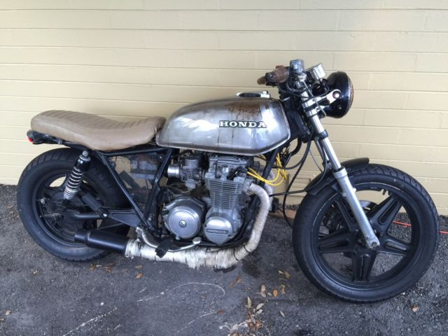 1982 Honda CB650 Nighthawk Custom Brat Cafe Style