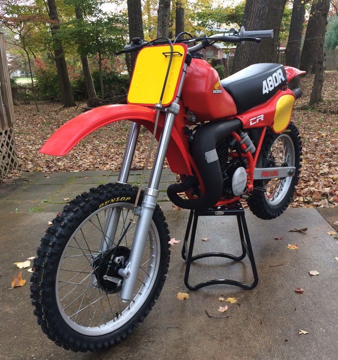 1982 honda cr480r ahrma vintage cr 480 450 250 yamaha for Yamaha honda kawasaki