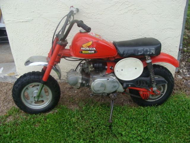 1982 honda z50r 50 49cc mini trail dirt bike kids motorcyle red classic rh suprememotos com Vintage Honda Trail Bikes Honda 50Cc Trail Bike