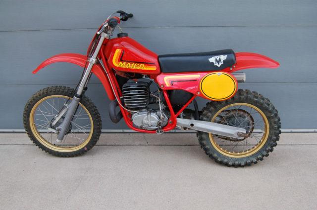 1982 Maico 490 Vintage Dirt Bike