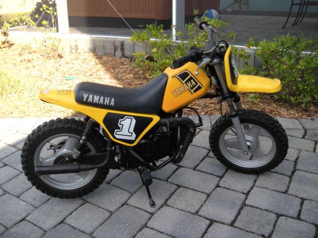 1982 y zinger 50 aka yzinger 50 yz50 yz 50 pw50 pw 50