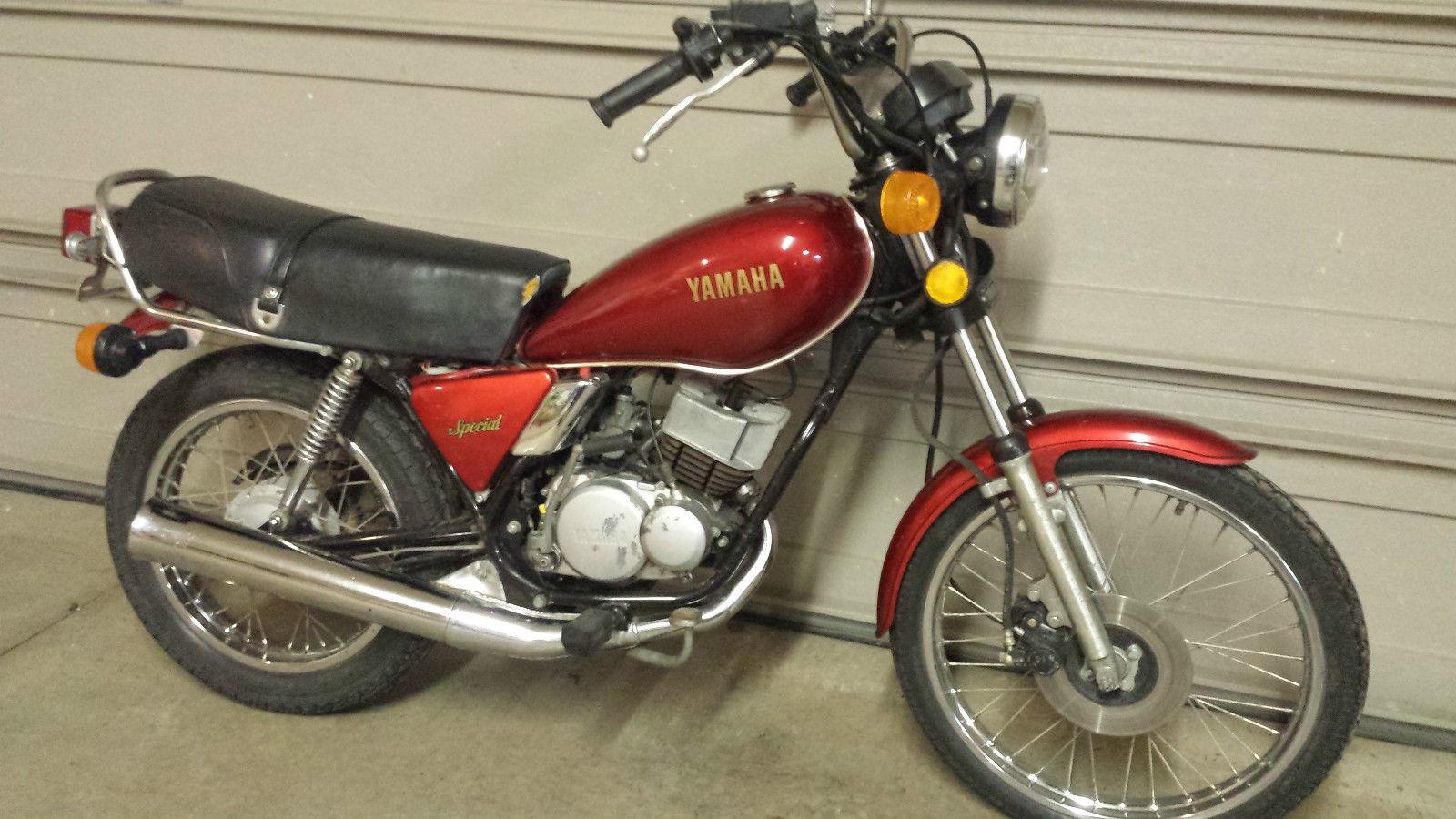 1982 Yamaha RX50 2 Stroke Motorcycle 49cc Street Bike YSR ...