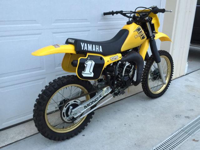 1982 yamaha yz125 vintage survivor minibike ahrma yz 125 for Hamilton yamaha nj