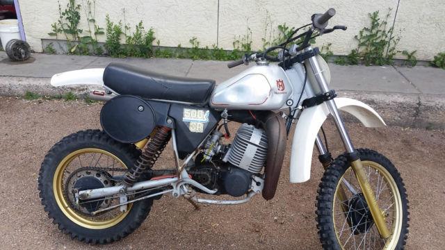 1982 5 Husqvarna Cr500 Silverstreak Motocross Vmx Rare