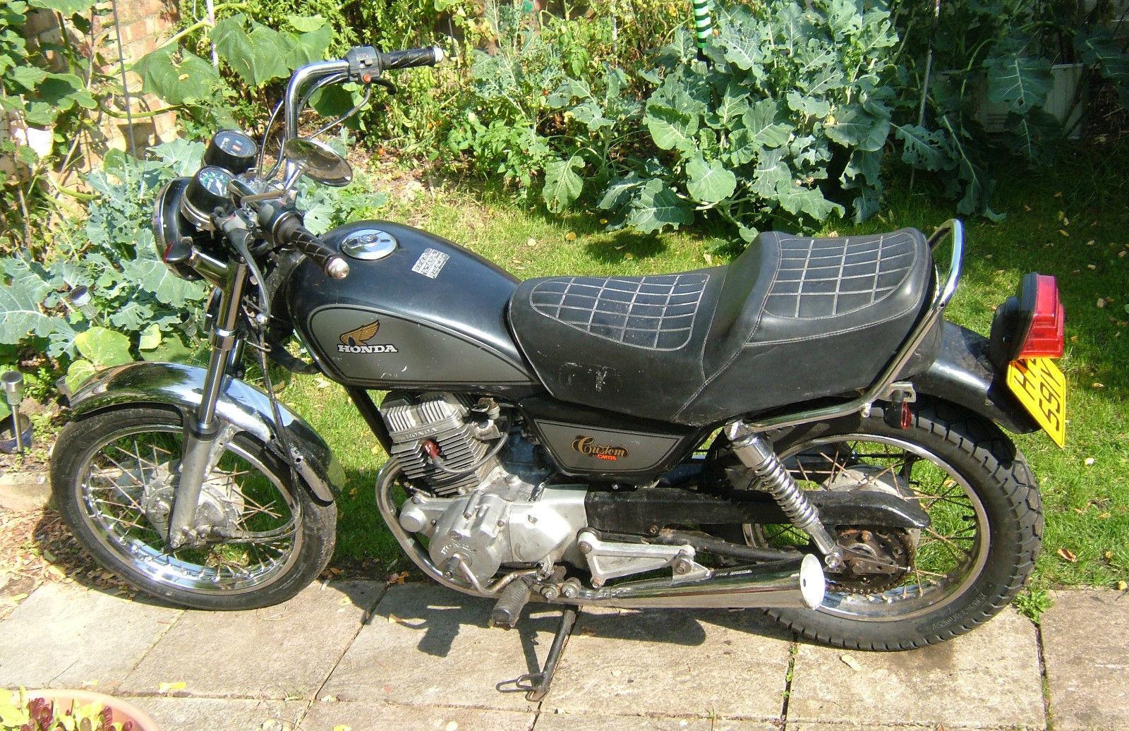 DID Std Kettensatz Honda CM 125 C JC05 Bj 1982-1983