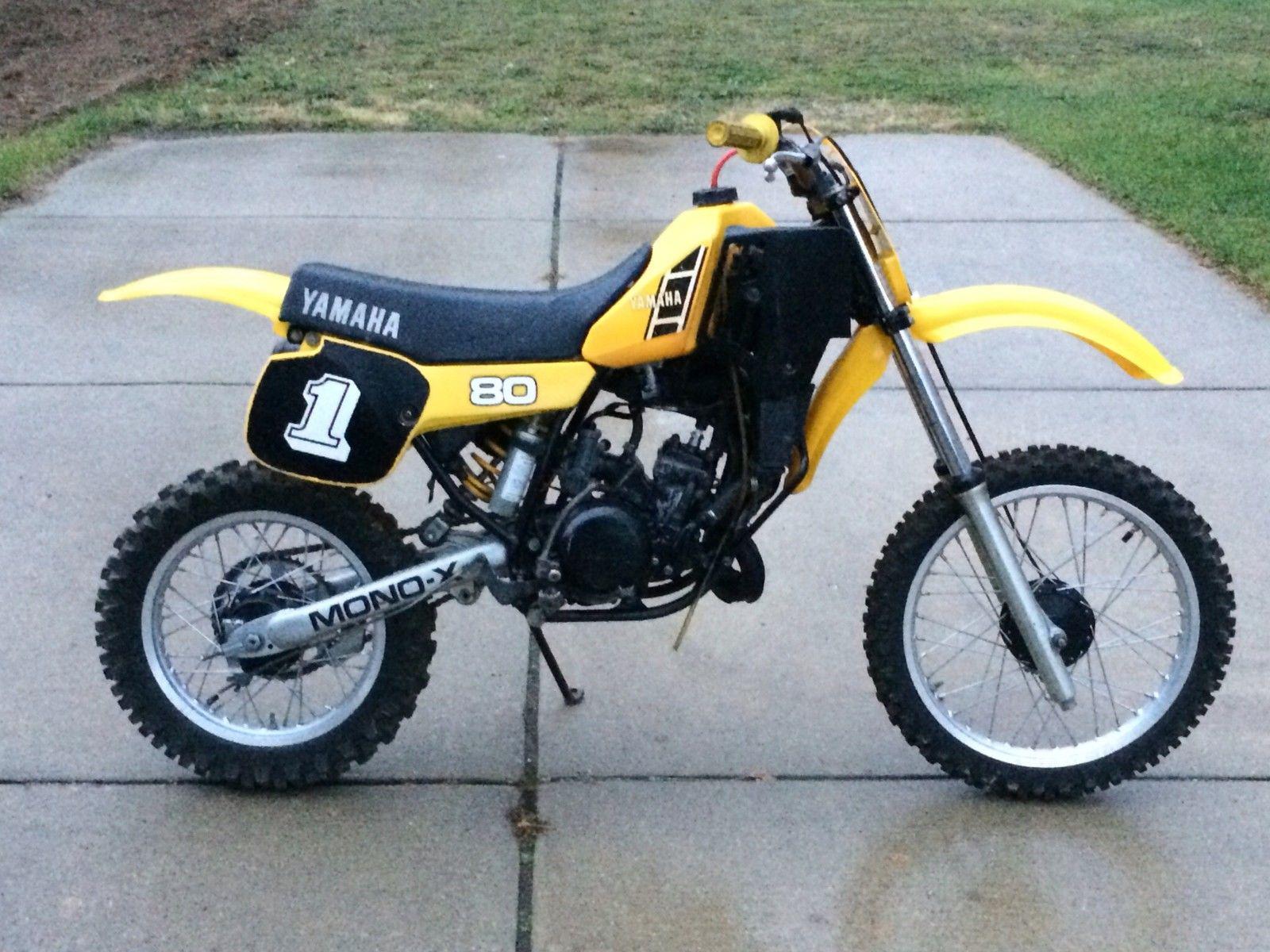 1983 yamaha yz 80 yz80 ahrma vintage mx motocross