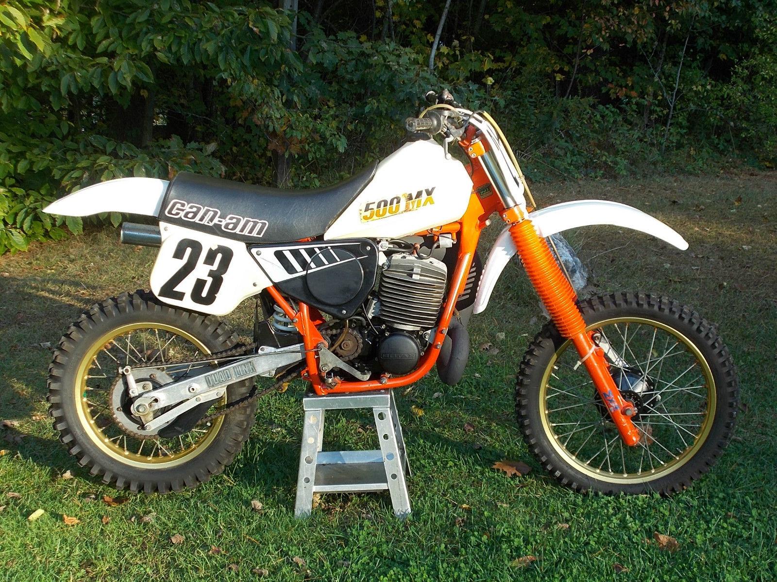 1984 Can Am 500mx Very Nice Low Use Survivor 500cc