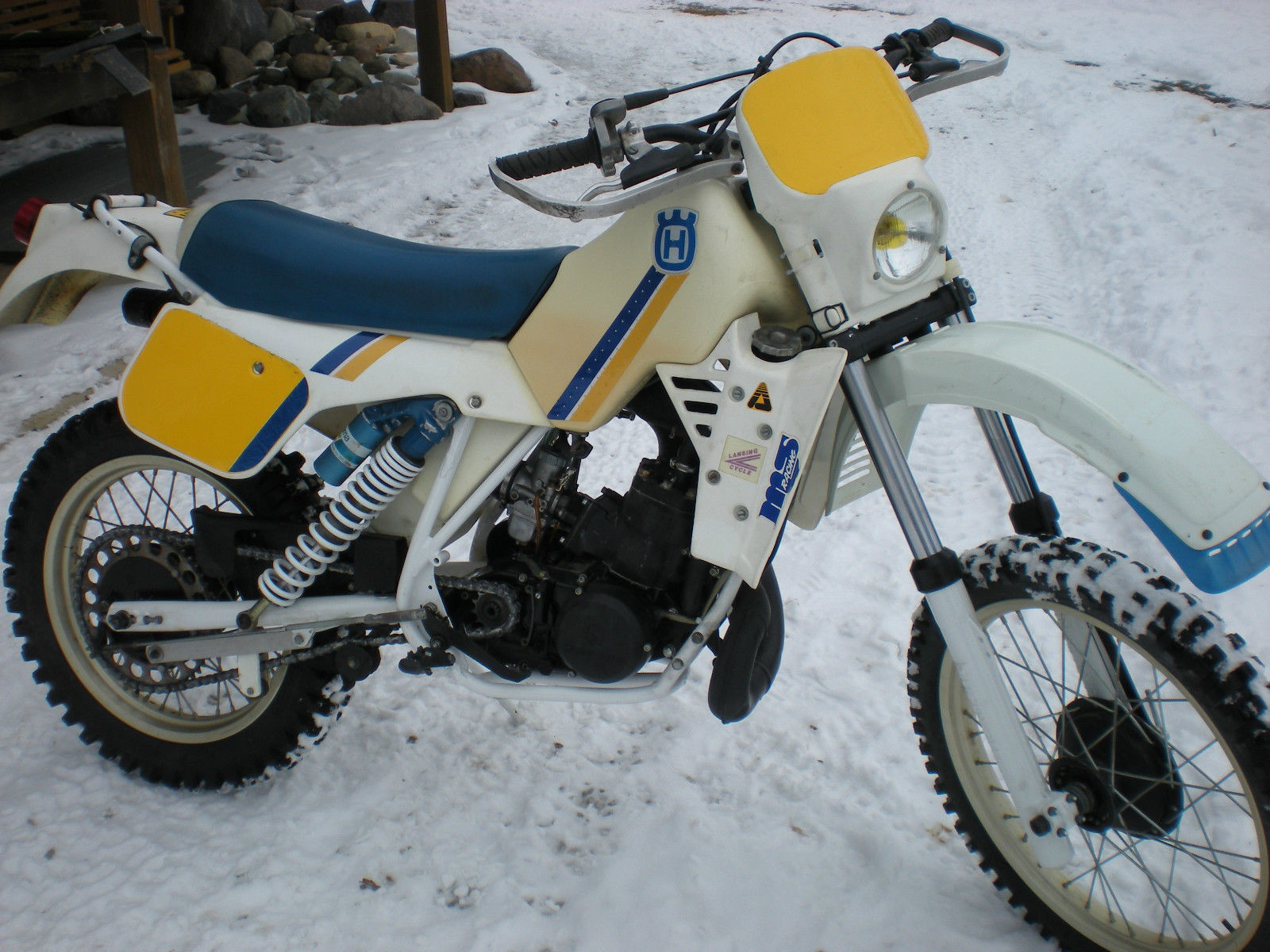 1985 husqvarna wr250 husky 250 vintage enduro cross. Black Bedroom Furniture Sets. Home Design Ideas
