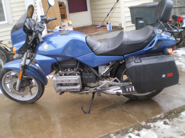 1986 bmw k 75 k series touring motorcycle. Cars Review. Best American Auto & Cars Review