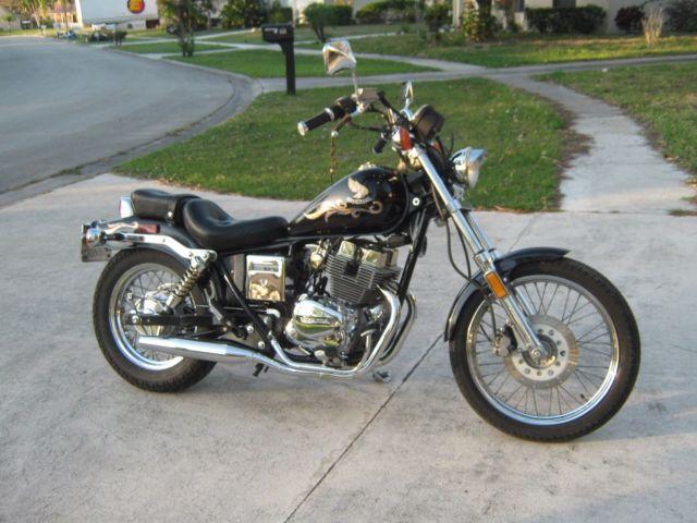 1986 Honda Cmx 250 Cd Rebel 250 Limited Motorcycle