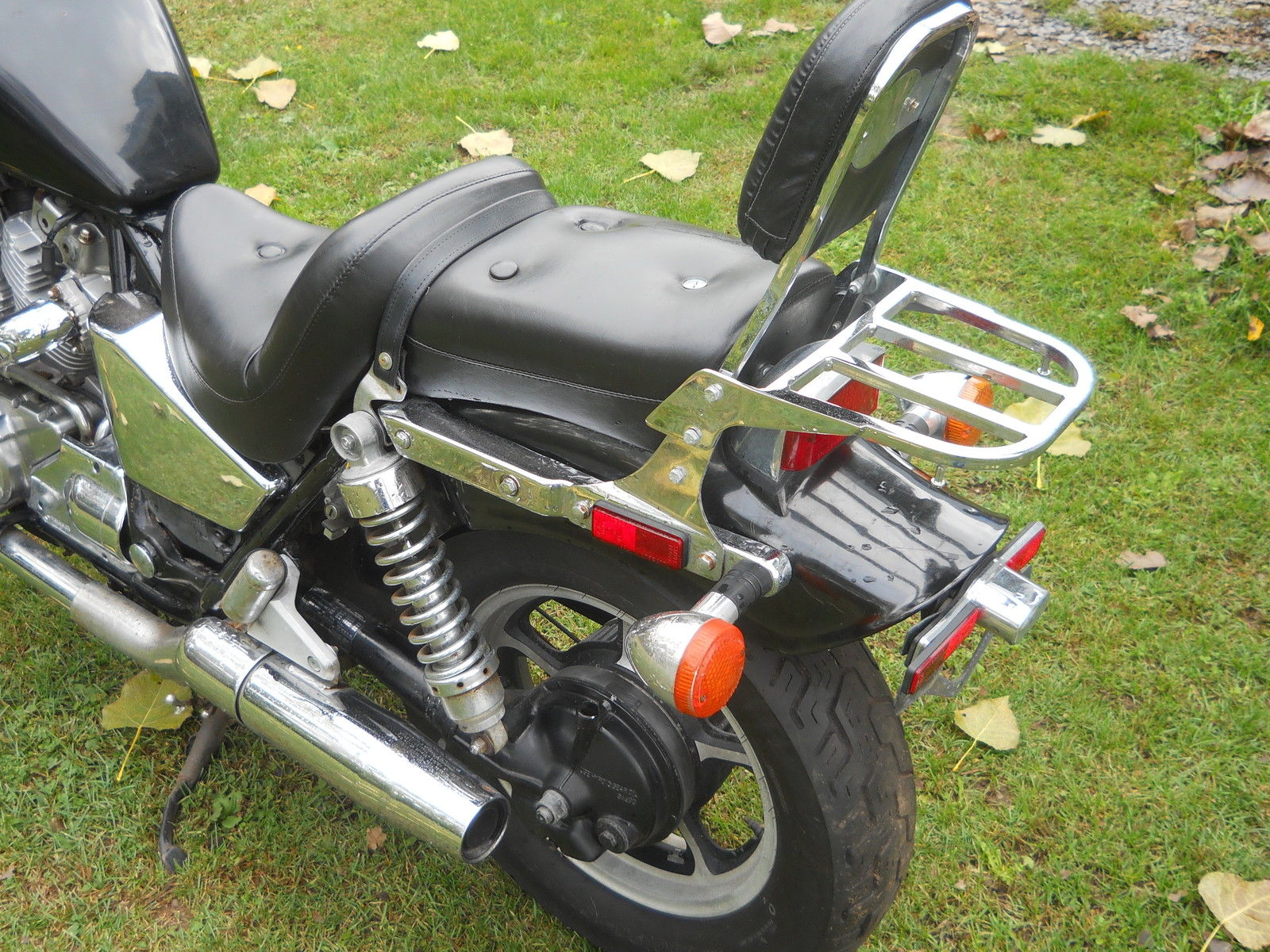 1986 HONDA VT700C SHADOW MOTORCYCLE VT 700 BOBBER PROJECT PARTS BIKE RESTORE