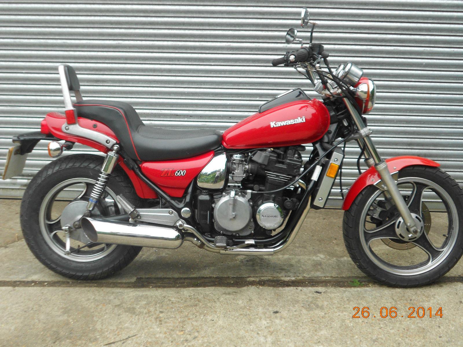 1986 Kawasaki zl kardan