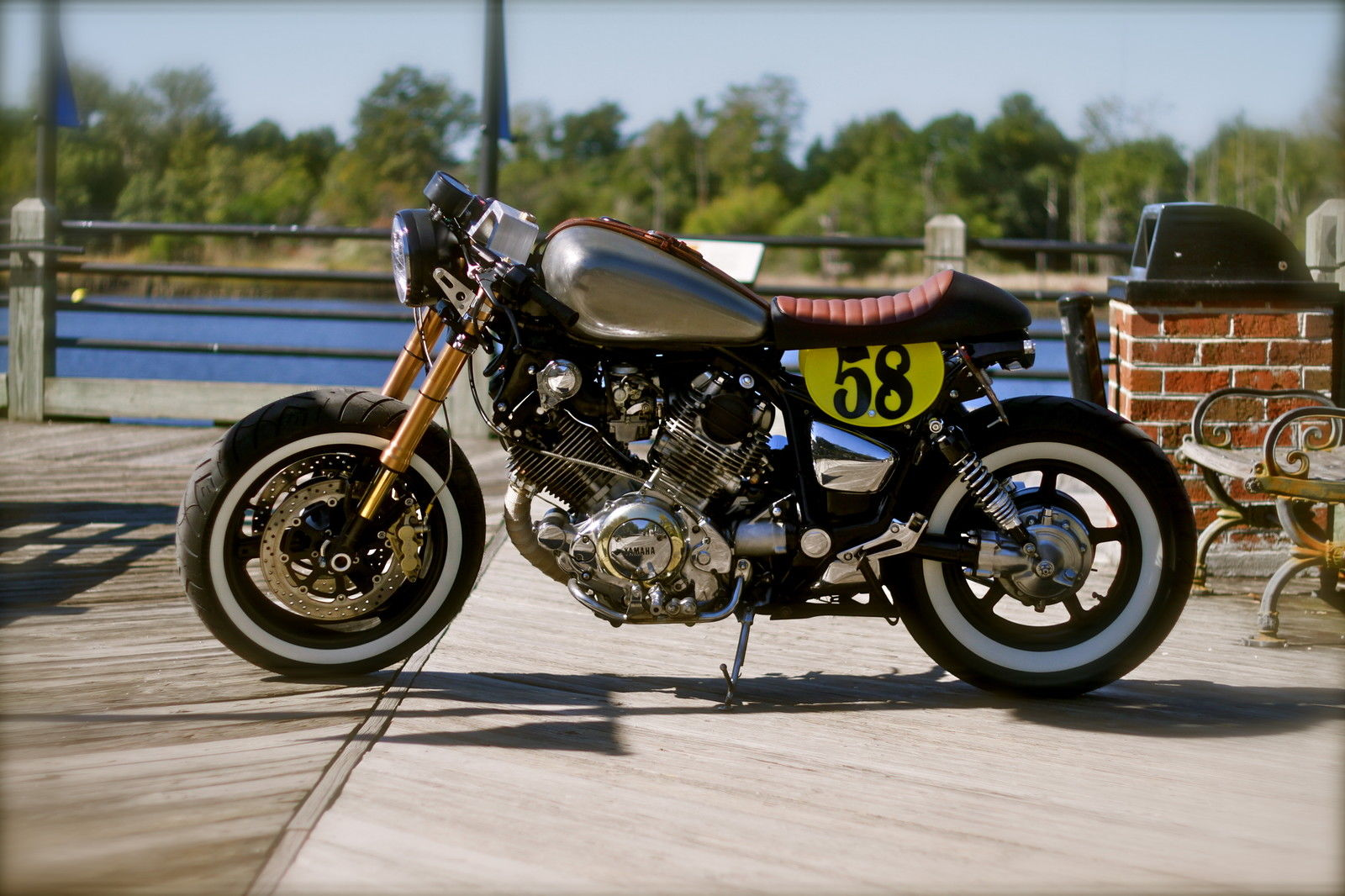 750xvcaferacer moreover 390658840204 also Shed Built Yamaha Virago 535 in addition Showthread in addition 87 Yamaha Xv1100 Wiring Diagrams. on yamaha xv1100