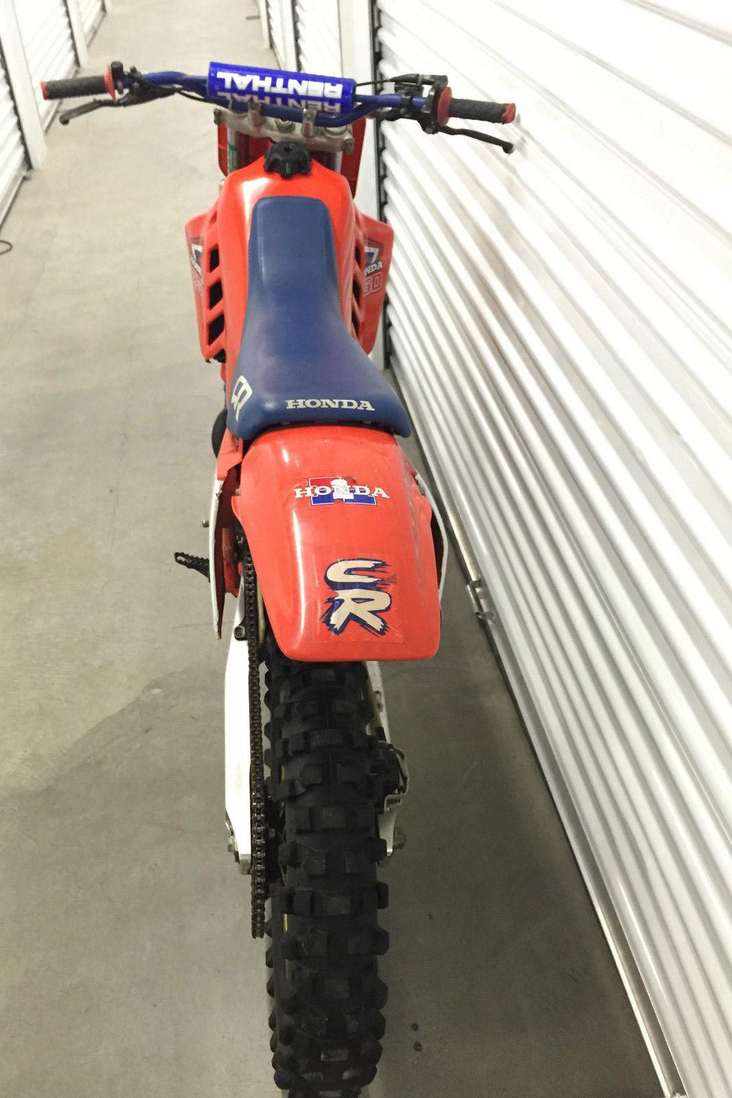 1987 Cr250r Vintage Dirt Bike Motorcycle Honda 250 Cr 80s 2 Stroke Wiring Diagram
