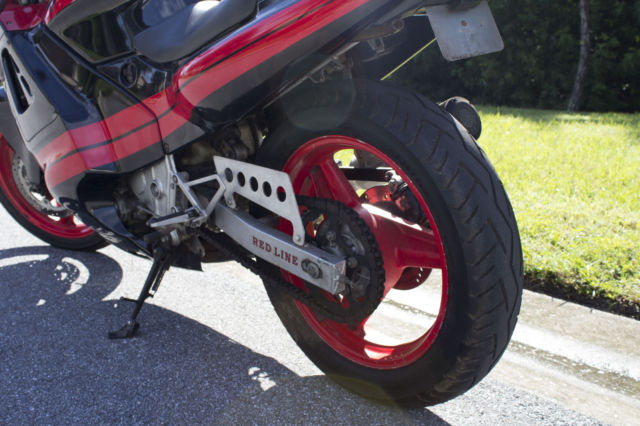 1987 Honda Hurricane 600 Motorcycle Bike Sport Vintage Classic Original
