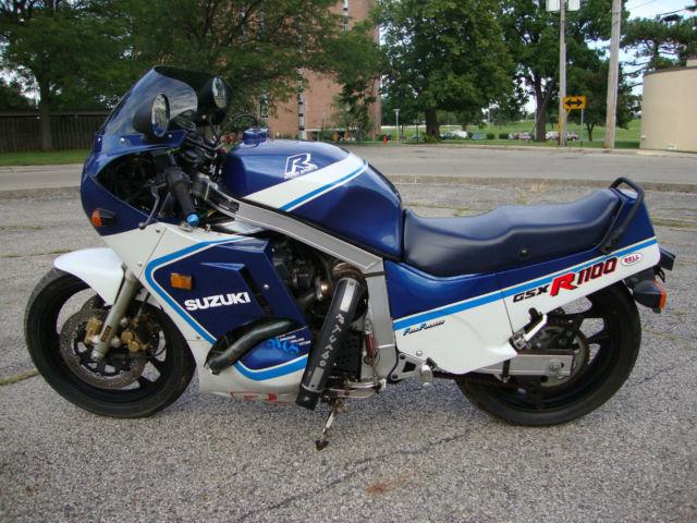 1987 suzuki gsxr1100 turbo charged runs rides 6200 miles