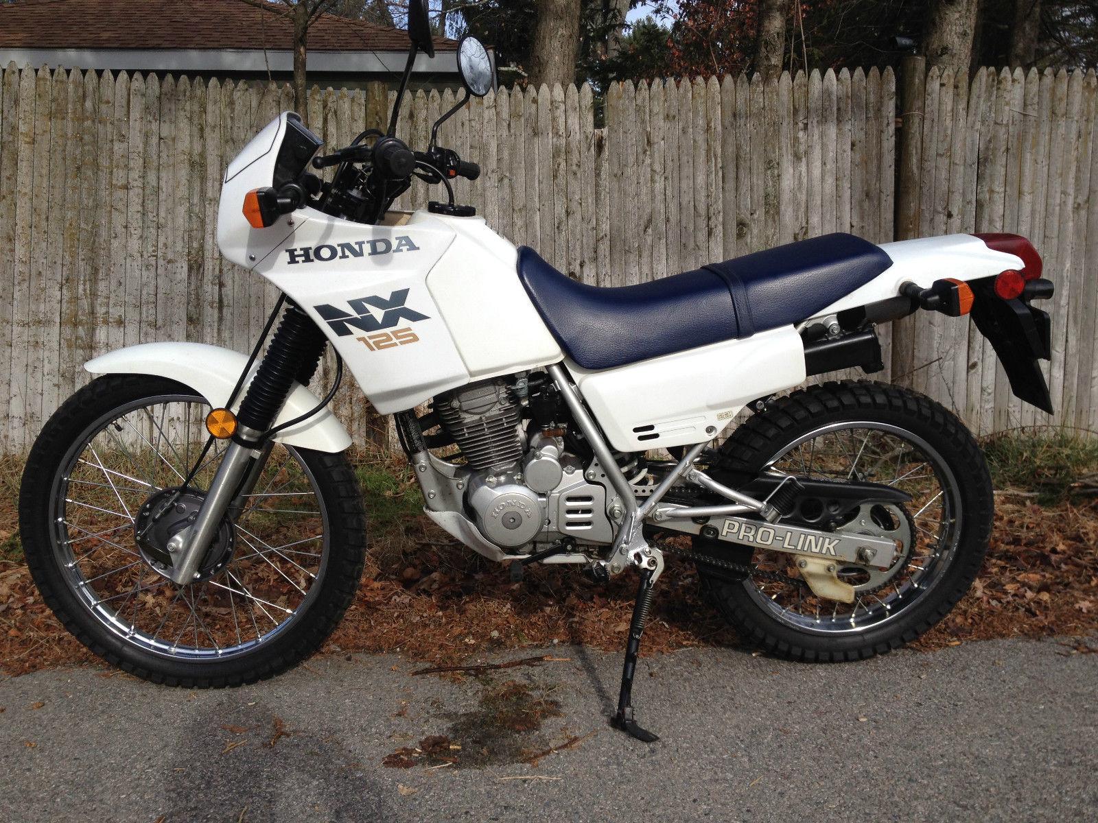 Мотоцикл Honda NX 125 Transcity 1993 Фото, Характеристики