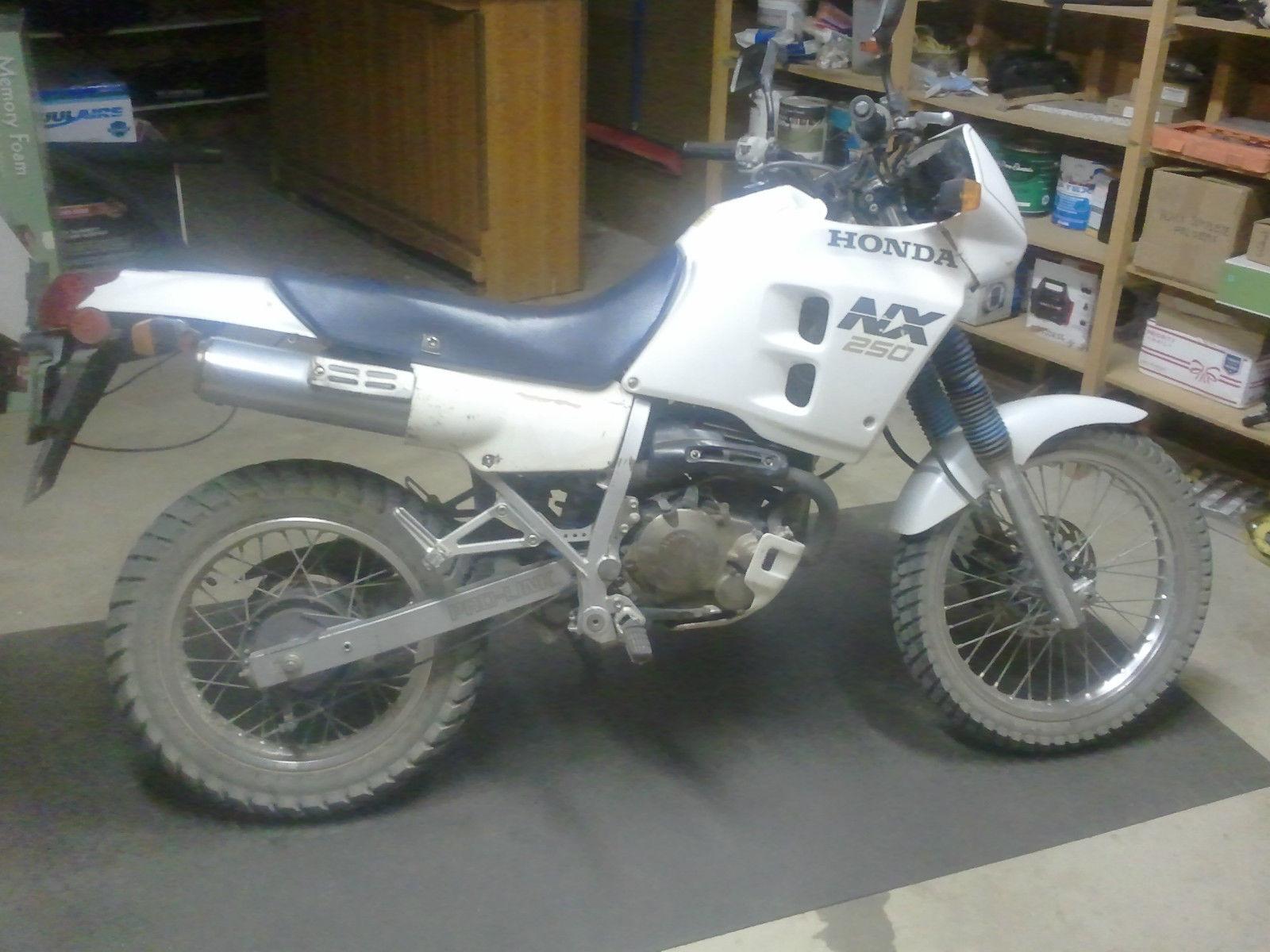 1988 Honda Nx250 Enduro Motorcycle